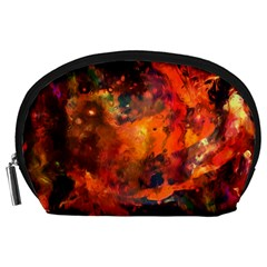 Abstract Acryl Art Accessory Pouches (large)
