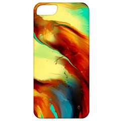Abstract Acryl Art Apple Iphone 5 Classic Hardshell Case