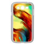 Abstract Acryl Art Samsung Galaxy Grand DUOS I9082 Case (White) Front