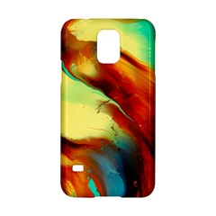 Abstract Acryl Art Samsung Galaxy S5 Hardshell Case