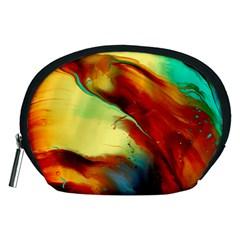 Abstract Acryl Art Accessory Pouches (medium)