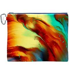 Abstract Acryl Art Canvas Cosmetic Bag (xxxl)