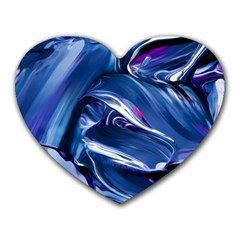Abstract Acryl Art Heart Mousepads