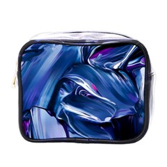Abstract Acryl Art Mini Toiletries Bags