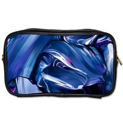 Abstract Acryl Art Toiletries Bags 2 Side