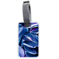 Abstract Acryl Art Luggage Tags (two Sides)