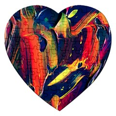 Abstract Acryl Art Jigsaw Puzzle (heart)