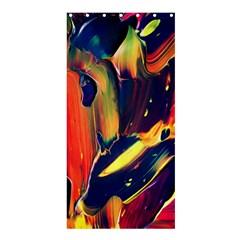 Abstract Acryl Art Shower Curtain 36  X 72  (stall)