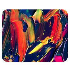 Abstract Acryl Art Double Sided Flano Blanket (medium)