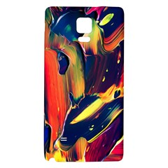 Abstract Acryl Art Galaxy Note 4 Back Case