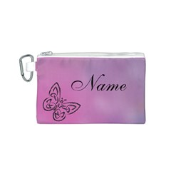 Butterfly Canvas Cosmetic Bag (s)