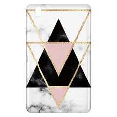 Triangles,gold,black,pink,marbles,collage,modern,trendy,cute,decorative, Samsung Galaxy Tab Pro 8 4 Hardshell Case