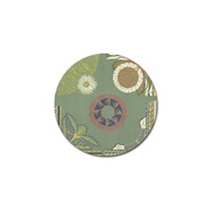 Artnouveau18 Golf Ball Marker (4 Pack)
