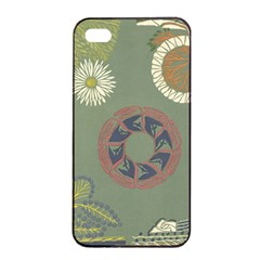 Artnouveau18 Apple Iphone 4/4s Seamless Case (black)