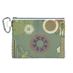 Artnouveau18 Canvas Cosmetic Bag (l)