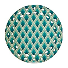 Artdecoteal Ornament (round Filigree)