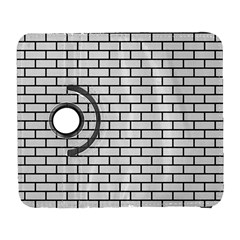 Brick1 Black Marble & White Linen Galaxy S3 (flip/folio)