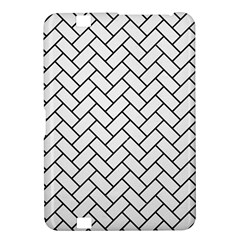 Brick2 Black Marble & White Linen Kindle Fire Hd 8 9
