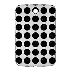 Circles1 Black Marble & White Linen Samsung Galaxy Note 8 0 N5100 Hardshell Case