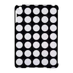 Circles1 Black Marble & White Linen (r) Apple Ipad Mini Hardshell Case (compatible With Smart Cover)