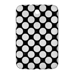 Circles2 Black Marble & White Linen (r) Samsung Galaxy Note 8 0 N5100 Hardshell Case