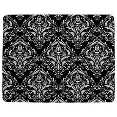 Damask1 Black Marble & White Linen (r) Jigsaw Puzzle Photo Stand (rectangular)