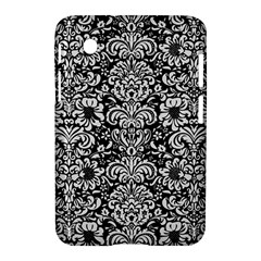 Damask2 Black Marble & White Linen (r) Samsung Galaxy Tab 2 (7 ) P3100 Hardshell Case