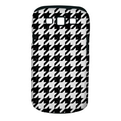 Houndstooth1 Black Marble & White Linen Samsung Galaxy S Iii Classic Hardshell Case (pc+silicone)