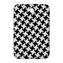 Houndstooth2 Black Marble & White Linen Samsung Galaxy Note 8 0 N5100 Hardshell Case
