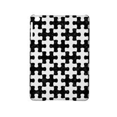 Puzzle1 Black Marble & White Linen Ipad Mini 2 Hardshell Cases