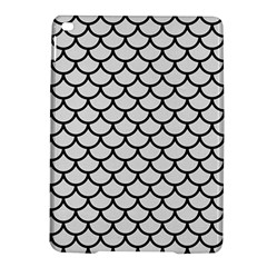 Scales1 Black Marble & White Linen Ipad Air 2 Hardshell Cases