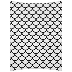 Scales1 Black Marble & White Linen Back Support Cushion