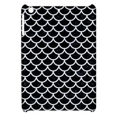 Scales1 Black Marble & White Linen (r) Apple Ipad Mini Hardshell Case