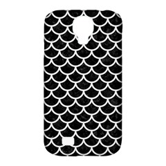 Scales1 Black Marble & White Linen (r) Samsung Galaxy S4 Classic Hardshell Case (pc+silicone)