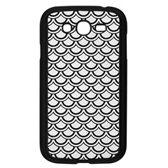 Scales2 Black Marble & White Linen Samsung Galaxy Grand Duos I9082 Case (black)