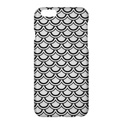 Scales2 Black Marble & White Linen Apple Iphone 6 Plus/6s Plus Hardshell Case