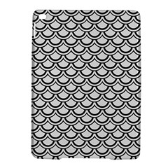 Scales2 Black Marble & White Linen Ipad Air 2 Hardshell Cases