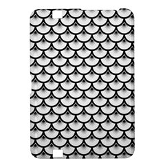 Scales3 Black Marble & White Linen Kindle Fire Hd 8 9