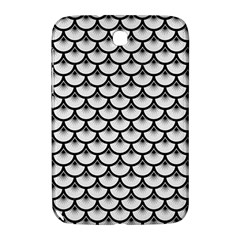 Scales3 Black Marble & White Linen Samsung Galaxy Note 8 0 N5100 Hardshell Case