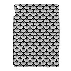 Scales3 Black Marble & White Linen Ipad Air 2 Hardshell Cases
