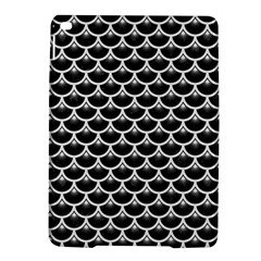 Scales3 Black Marble & White Linen (r) Ipad Air 2 Hardshell Cases