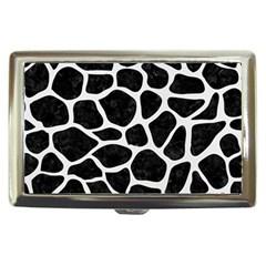Skin1 Black Marble & White Linen Cigarette Money Cases