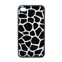 Skin1 Black Marble & White Linen Apple Iphone 4 Case (black)