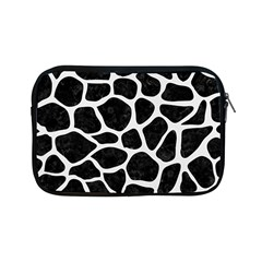 Skin1 Black Marble & White Linen Apple Ipad Mini Zipper Cases