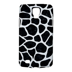 Skin1 Black Marble & White Linen Galaxy S4 Active