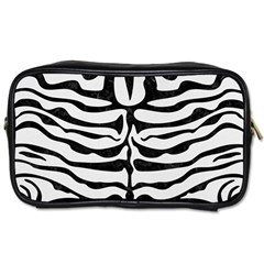 Skin2 Black Marble & White Linen Toiletries Bags