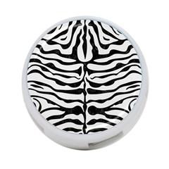 Skin2 Black Marble & White Linen 4 Port Usb Hub (one Side)
