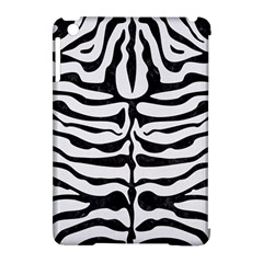 Skin2 Black Marble & White Linen Apple Ipad Mini Hardshell Case (compatible With Smart Cover)