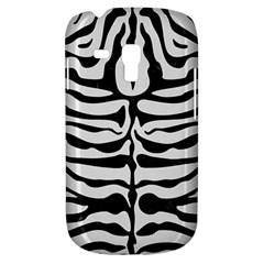 Skin2 Black Marble & White Linen Galaxy S3 Mini