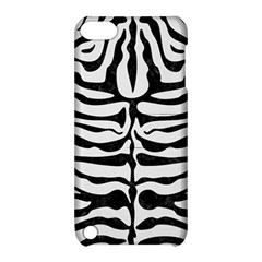 Skin2 Black Marble & White Linen Apple Ipod Touch 5 Hardshell Case With Stand